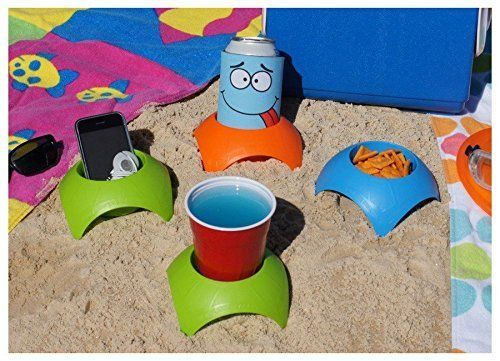 "Get these Turtleback Sand Coasters <a href=""https://www.amazon.com/Vacation-Accessory-Turtleback-Coaster-Assorted/dp/B00JJAA5"