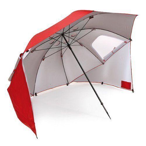 "Get this sun umbrella from Sport-Brella <a href=""https://www.amazon.com/Sport-Brella-Portable-All-Weather-Umbrella-Canopy/dp/"