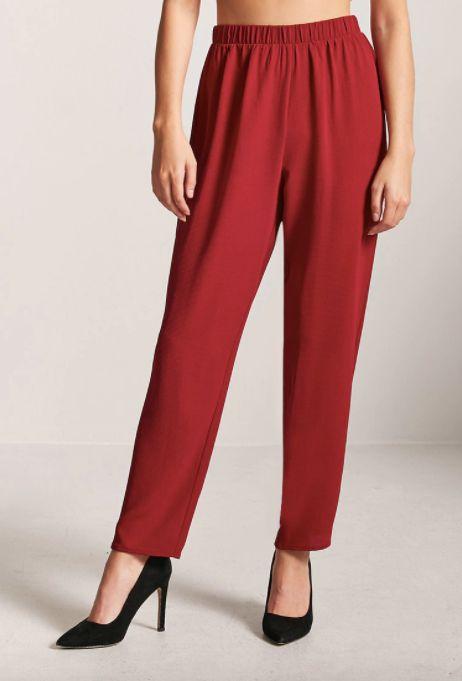 3642e14485354 18 Flattering High-Waisted Trousers That Aren t Paper Bag Waist ...