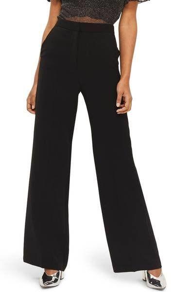 "Get them at <a href=""https://shop.nordstrom.com/s/topshop-high-waist-wide-leg-trousers/4831146?origin=keywordsearch-personali"
