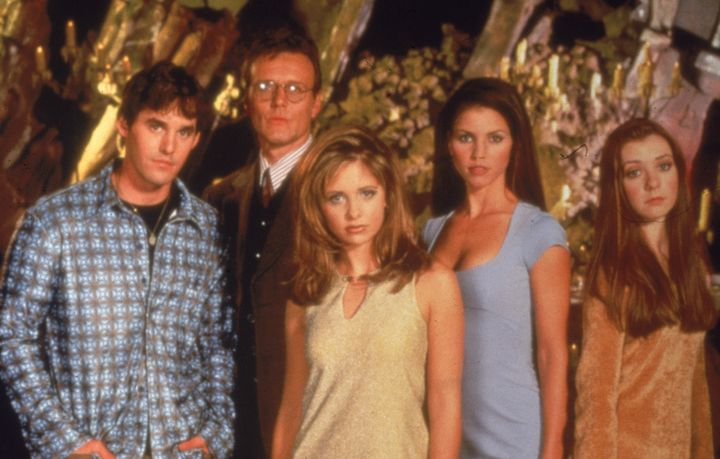 "The ""Buffy"" crew in 1997."