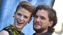 Rose Leslie Kicks Kit Harington Out Of The House For A Super Relatable