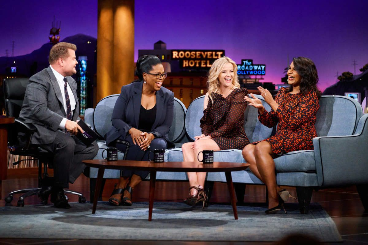 Oprah's Bathtub Is So Additional, It Even Shocked Reese Witherspoon