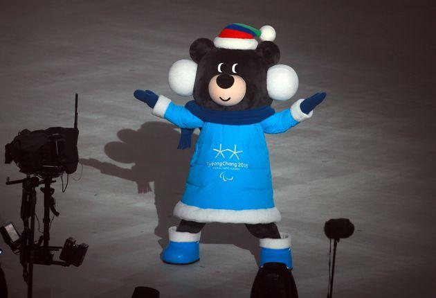 평창동계패럴림픽 마스코트 '반다비'의 귀여움을 모두