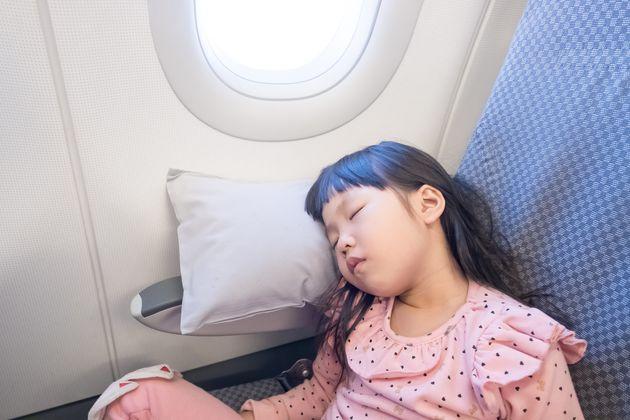 비행기에서 꿀잠 자기 위한