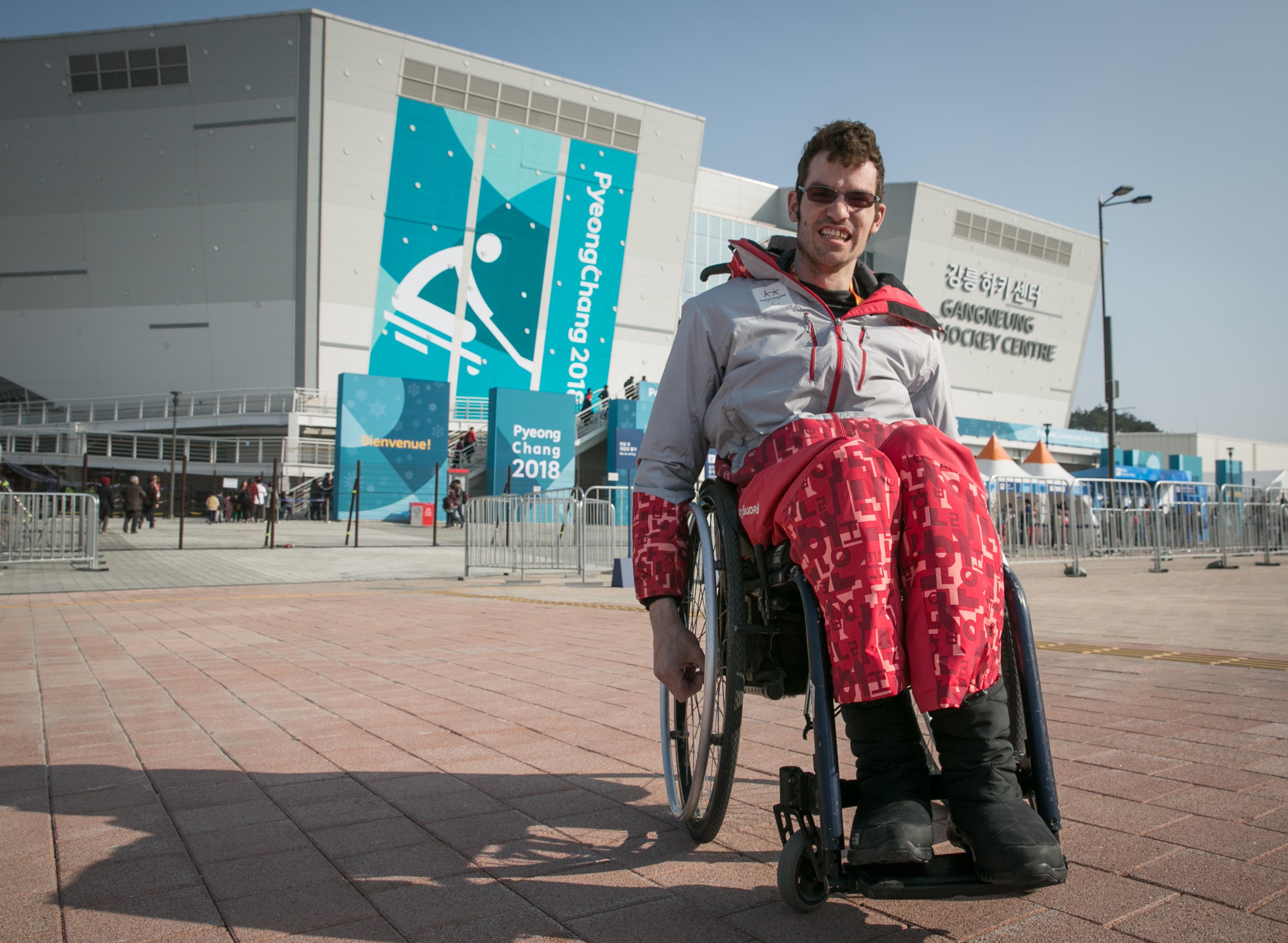독일에서 온 장애인 자원봉사자가 겪은