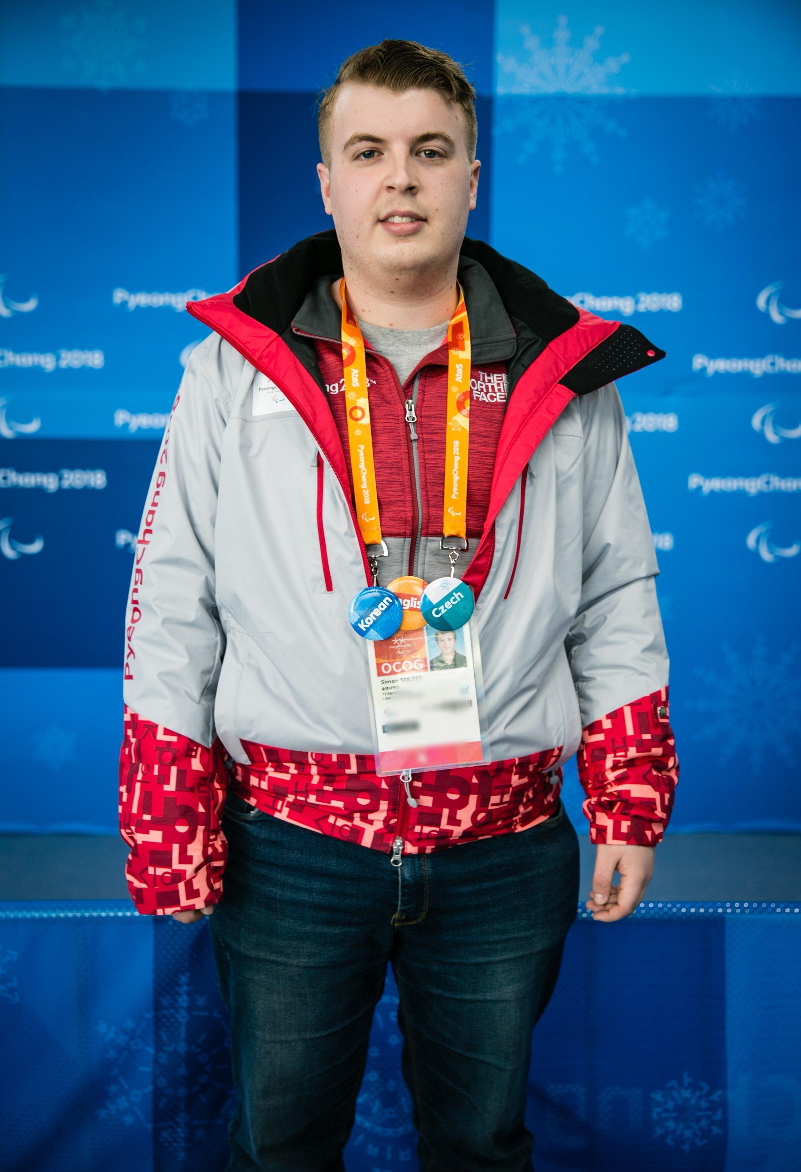 체코에서 온 '서울 대학생'의 패럴림픽