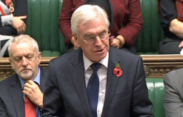 John McDonnellsaidJeremy Corbynwas rightly 'measured' in his