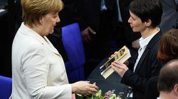 Frauke Petry schenkt Merkel zur Wahl ein Buch – mit eindeutiger Botschaft