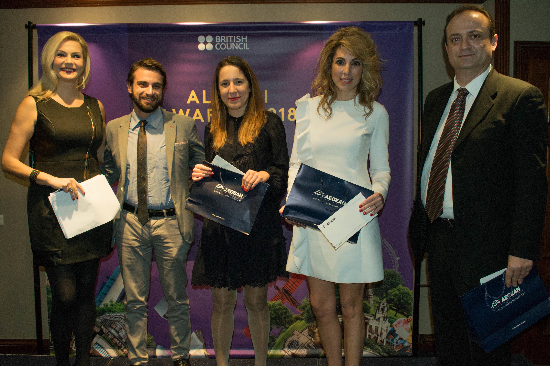 Ανακοινώθηκαν οι νικητές των Βραβείων Study UK Alumni Awards στην