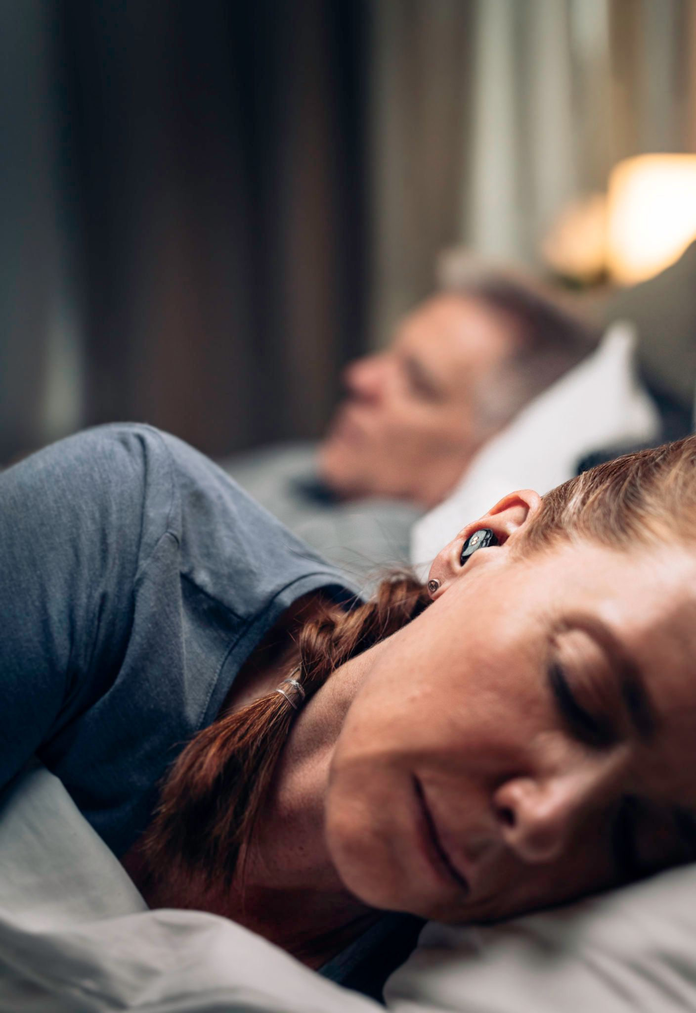 These Tiny Earbuds Will Silence Your Snoring