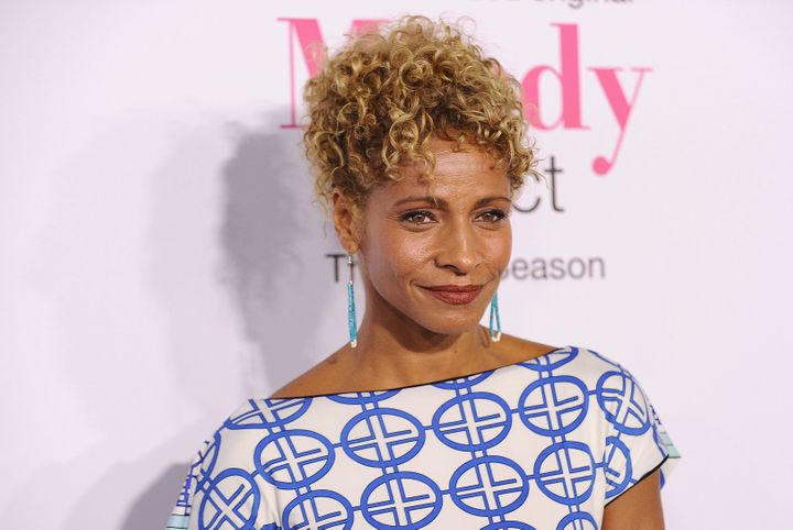 "Michelle Hurd plays the ""polished"" LAPD detective Lacey."