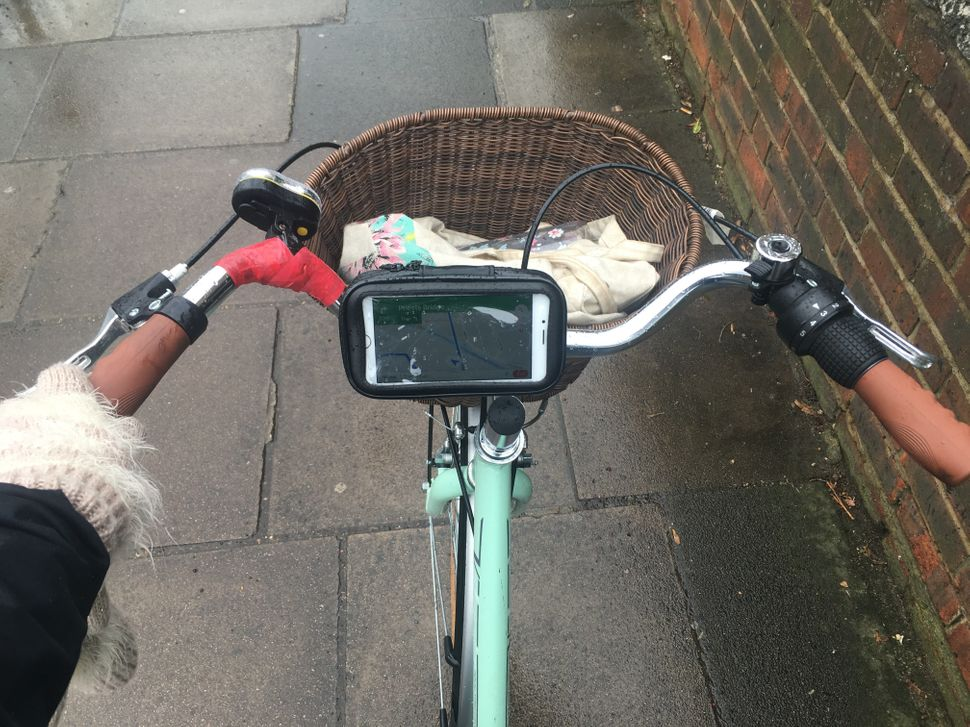 Yes, I have now have a sat nav on my bike.