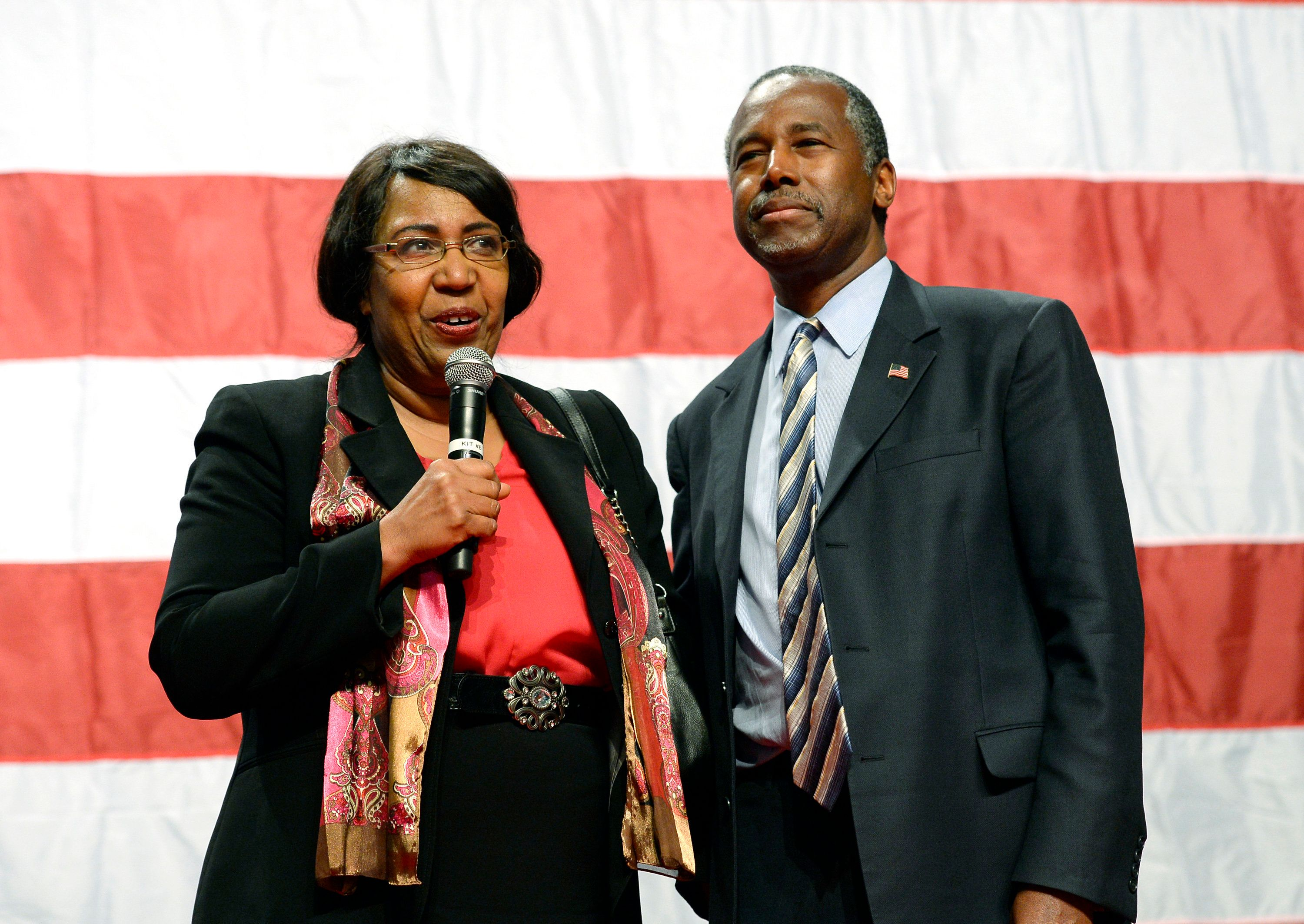 "Emails show that Candy Carson, Ben Carson's wife, had been invited to meet with a designer for ideas on ""redecorating the Sec"