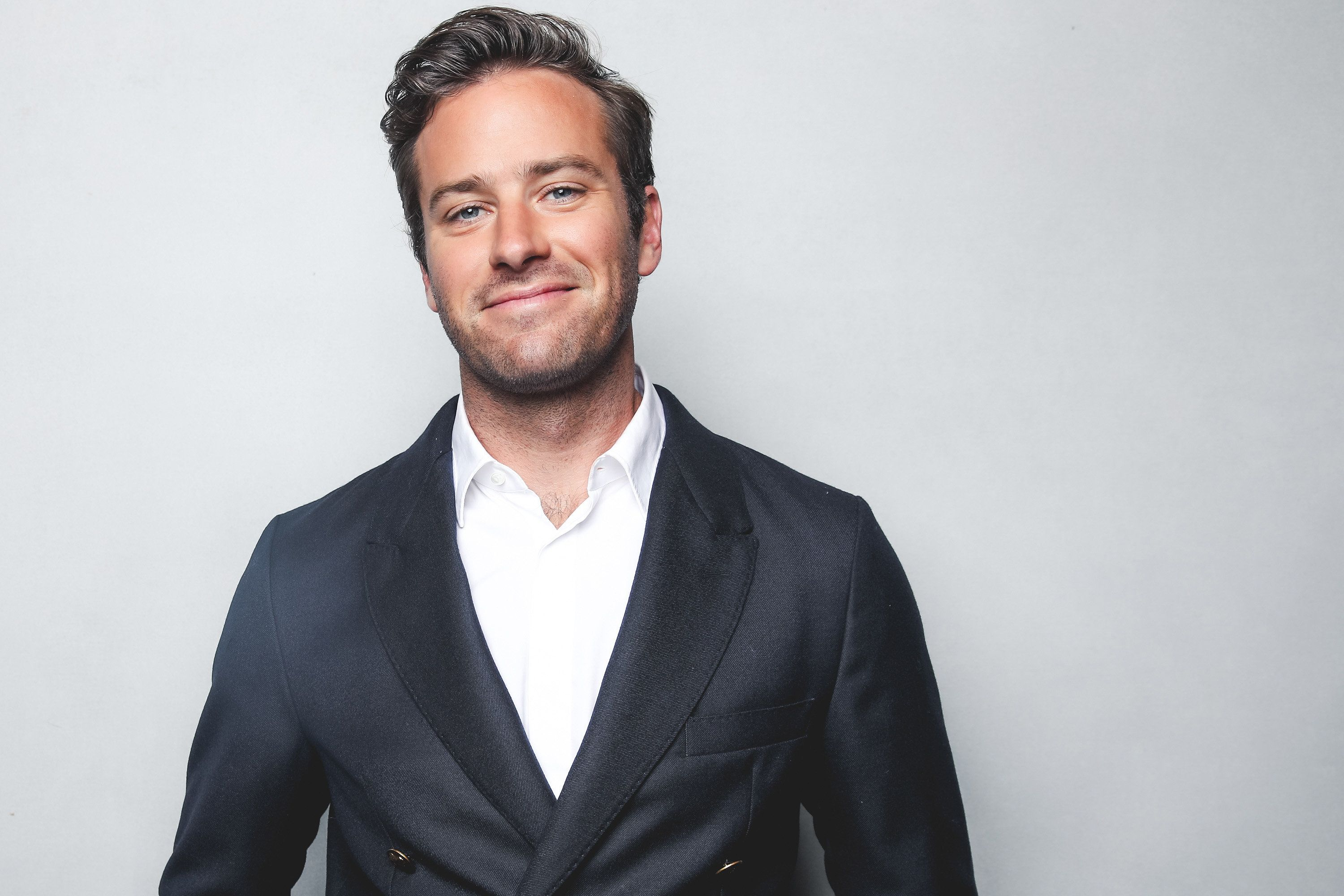 BEVERLY HILLS, CA - JANUARY 06:  Armie Hammer poses for a portrait at the BAFTA Los Angeles Tea Party on January 6, 2018 in Beverly Hills, California.  (Photo by Rich Fury/BAFTA LA/Getty Images)