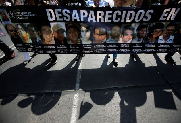 More than 30,000 people are believed to be missing in Mexico due to the war on