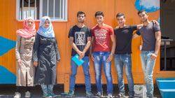 Seven Years Into Civil War, Young Syrian Refugees Are Building Their Own