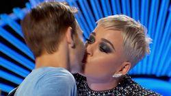 L'homme embrassé par Katy Perry à «American Idol» dit qu'il n'a pas aimé