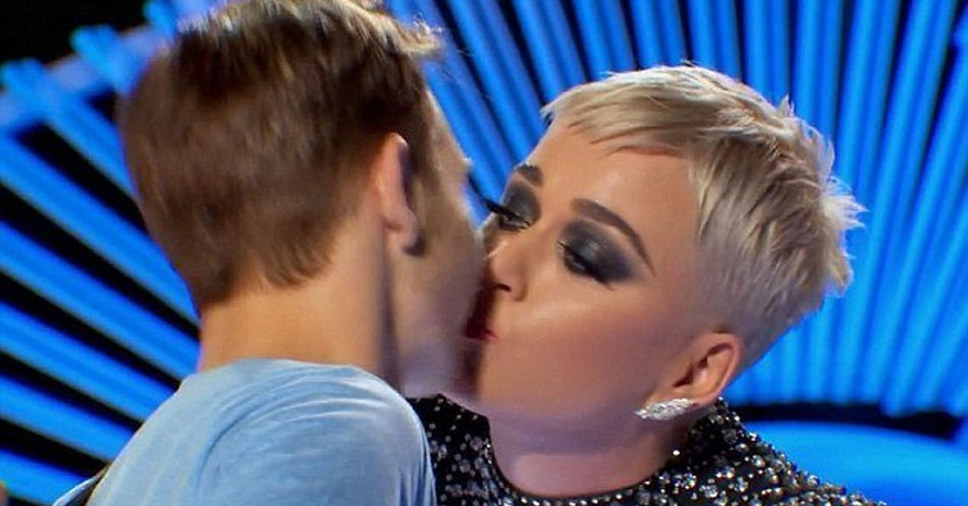 Man Katy Perry Kissed On 'American Idol' Says He Didn't Like It