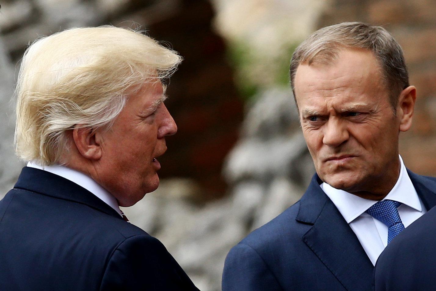 Τουσκ προς Τραμπ: Κάντε εμπόριο, όχι πόλεμο, κύριε