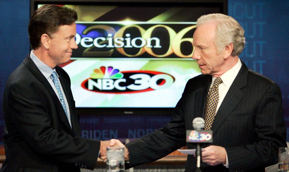 On July 6, 2006, businessman Ned Lamont debated Sen. Joe Lieberman (D-Conn.). Lamont beat Lieberman in...