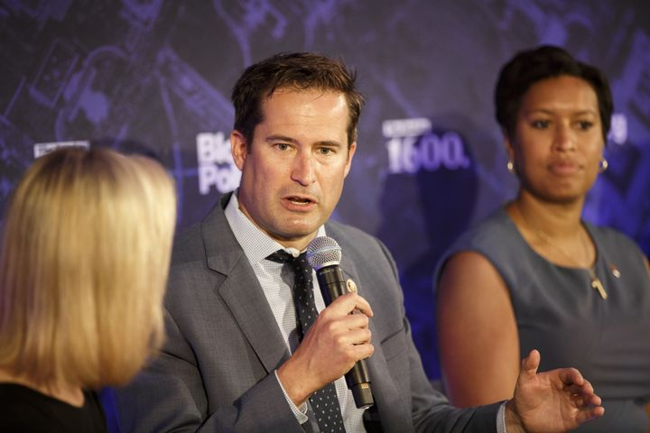 Rep. Seth Moulton (D-Mass.) is one of the young veterans in Congress pushing his party to engage more on foreign policy.