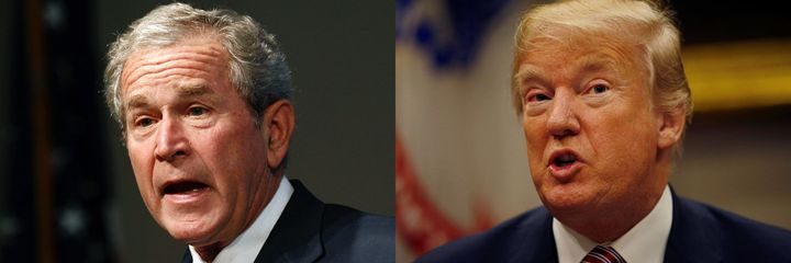 Presidents George W. Bush and Donald Trump have both embraced the use of torture.