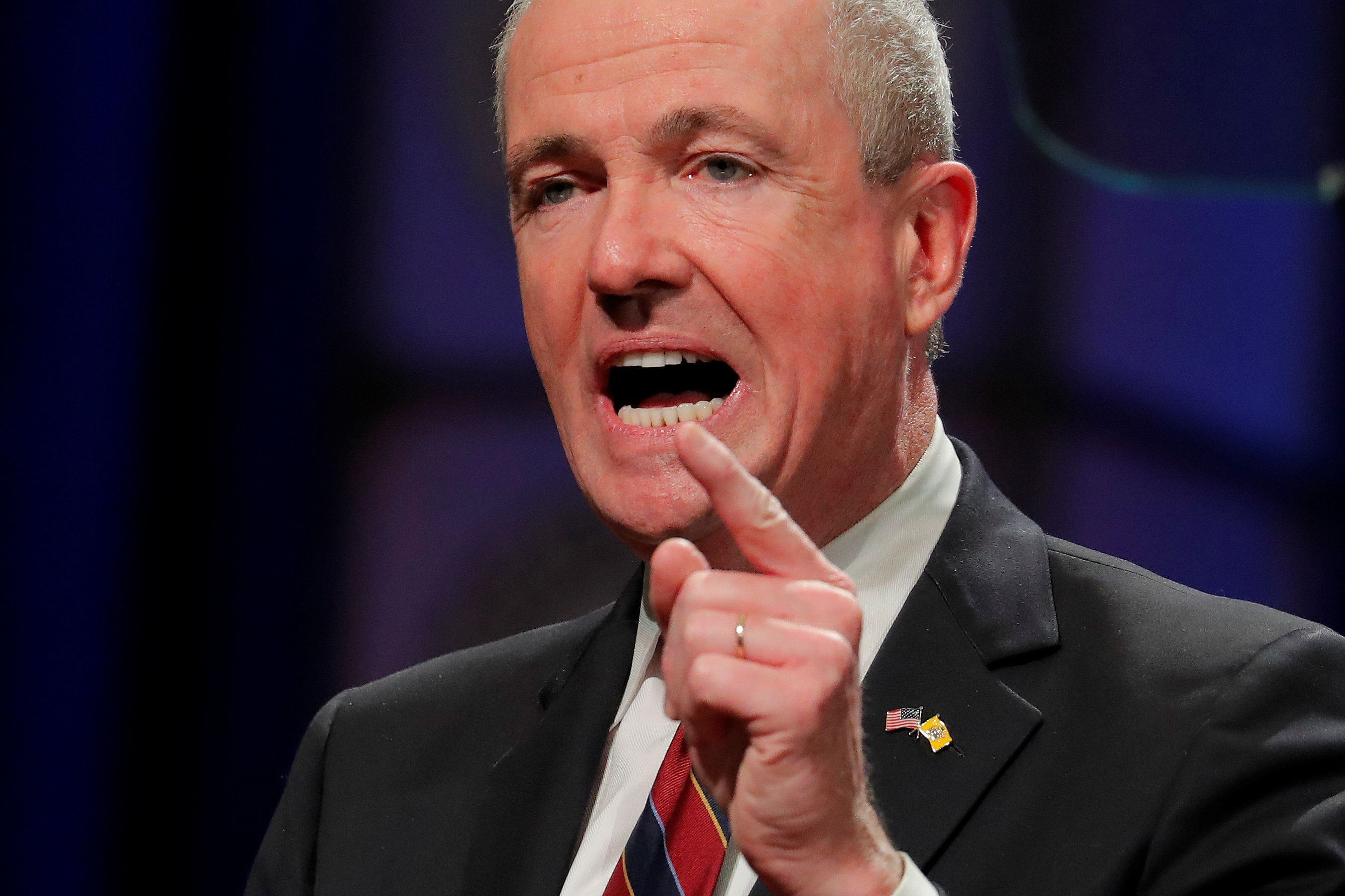 Gov. Phil Murphy is easing political tensions in New Jersey -- well, somewhat, because it's still Jersey.
