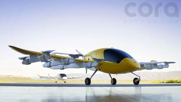 구글 창업자가 투자한 '자율 항공 택시' 가 모습을