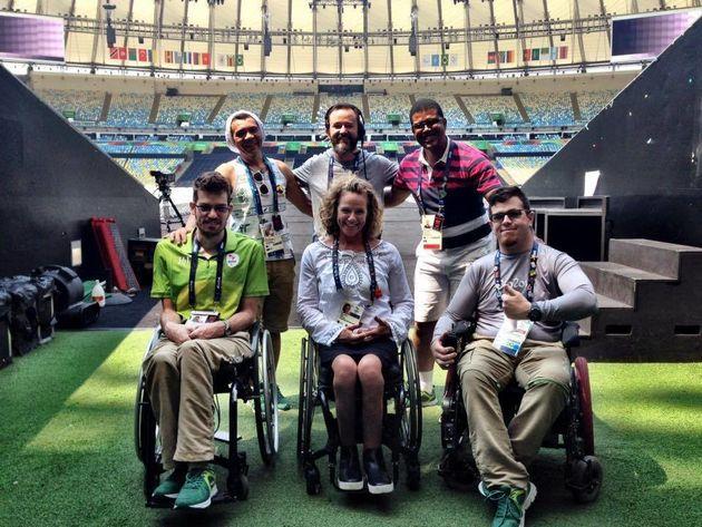 2016리우 올림픽때 자원봉사자로 활동한 카이