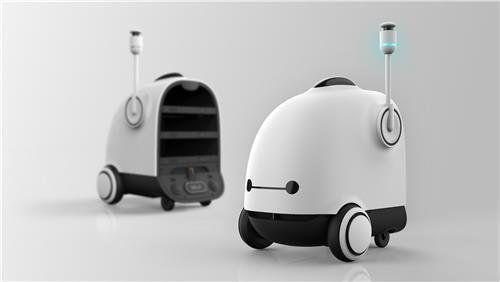 배달의민족이 '배달 로봇'을 개발하고