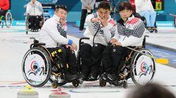 한국 패럴림픽 컬링 대표팀이 4강 진출을