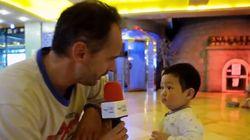 한국 찜질방 찾은 프랑스 기자의 광대가 승천한