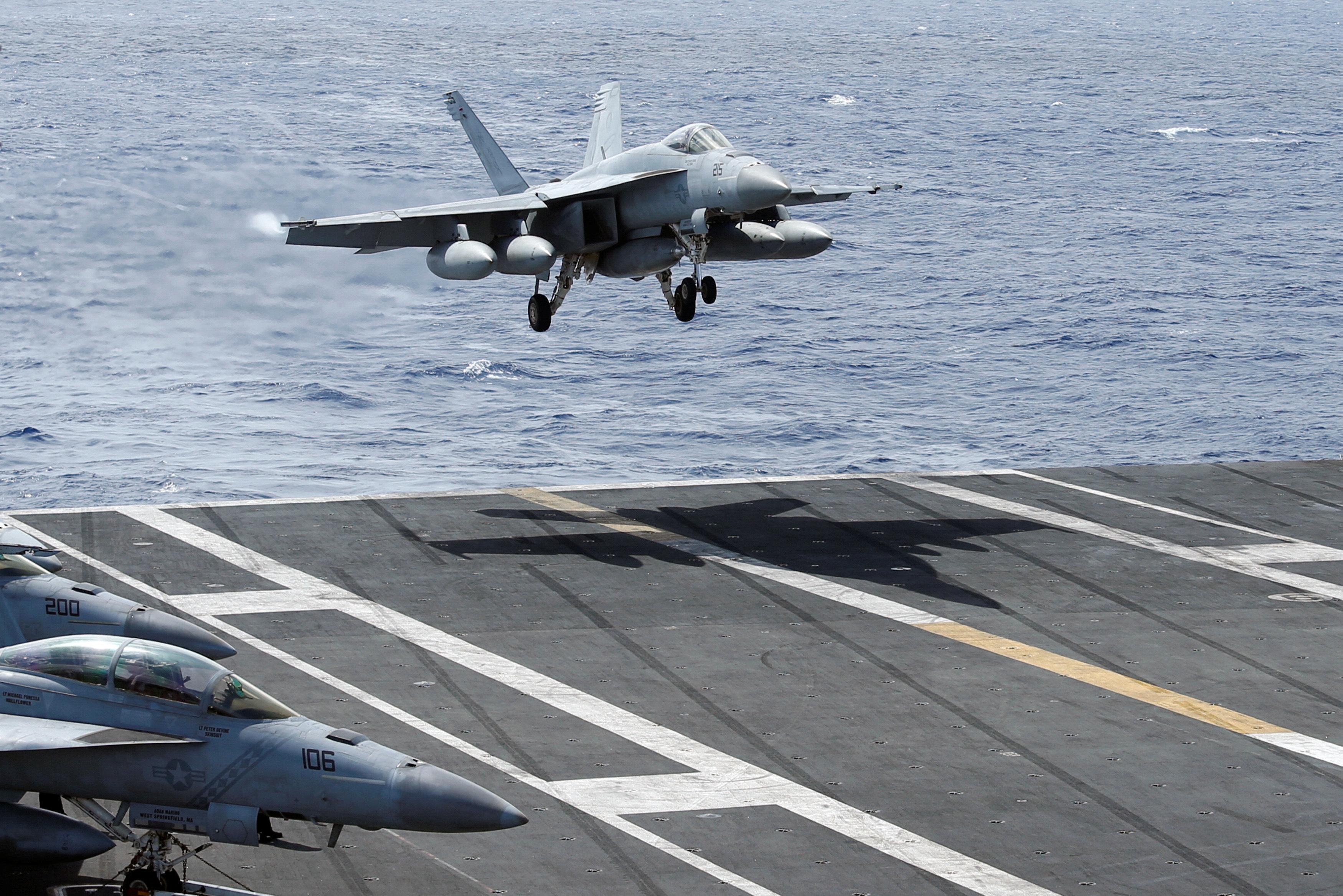 ΗΠΑ: Δύο νεκροί σε συντριβή μαχητικού του αμερικανικού πολεμικού