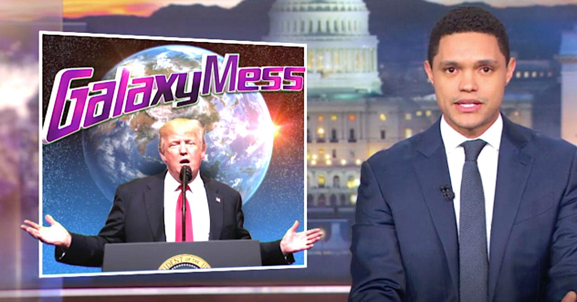 Trevor Noah Unveils Hilarious Recruitment Ad For Trump's 'Space Force'