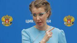 Ρωσία: Η υποψήφια για την προεδρία Ξένια Σομπτσάκ έβαλε τα κλάματα σε ζωντανό τηλεοπτικό