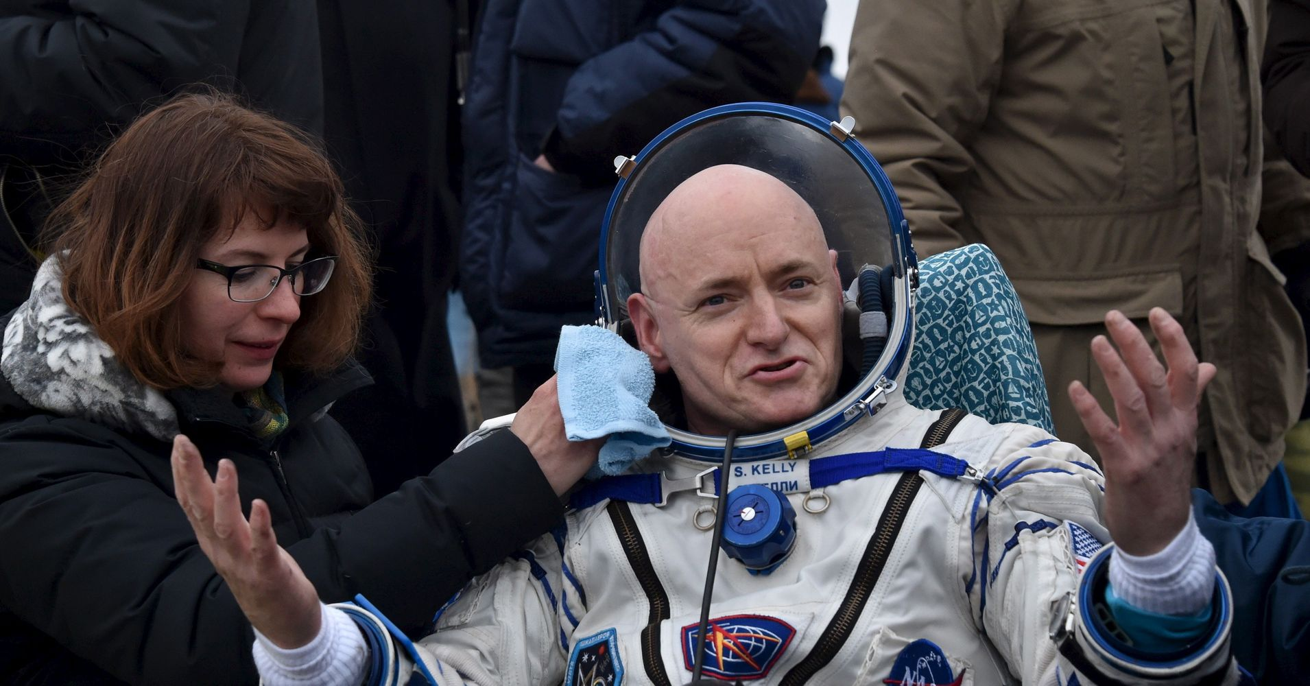 astronaut stayed in space for a year - photo #10