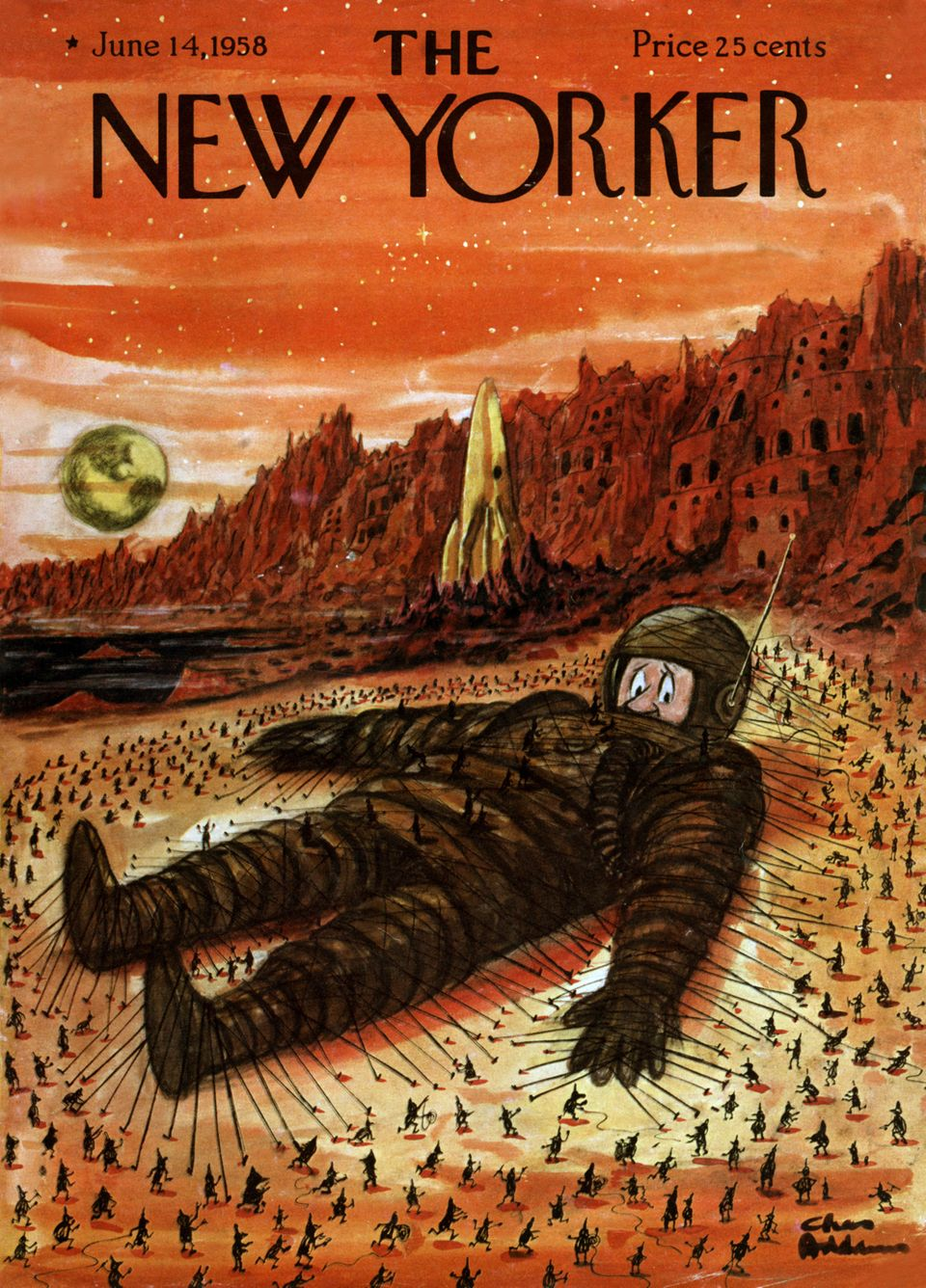 The New Yorker: Οι ιστορίες, οι εξελίξεις και οι πρωταγωνιστές που χαρακτήρισαν τα ωραιότερα εξώφυλλα...