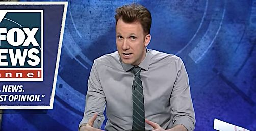 Jordan Klepper Ruins Fox Information' Newest Slogan On 'The Opposition'