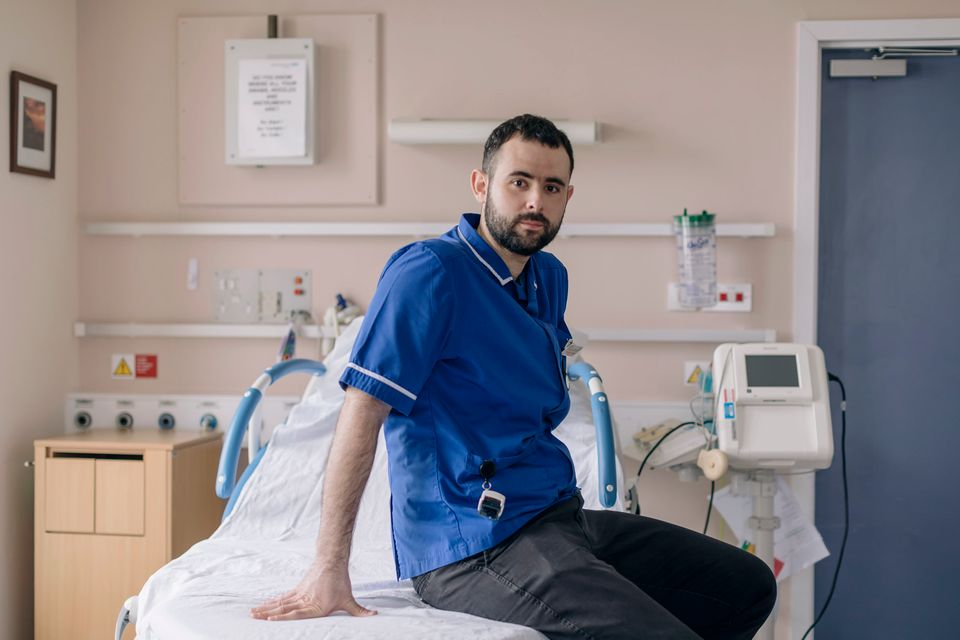 Greek midwifePanos Vakirtzis has worked in the NHS for two