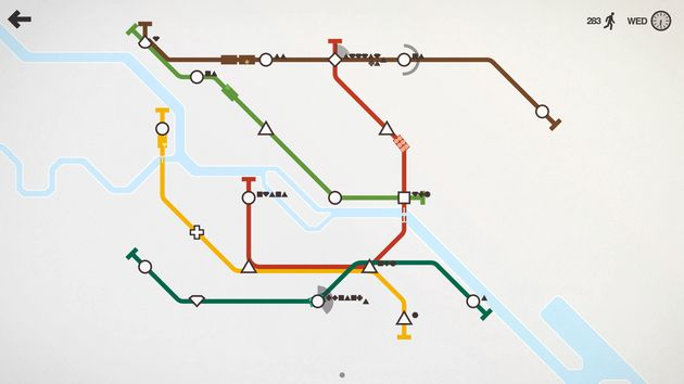 Playing 'Mini Metro' Is One Of The Most Calming Things You Can