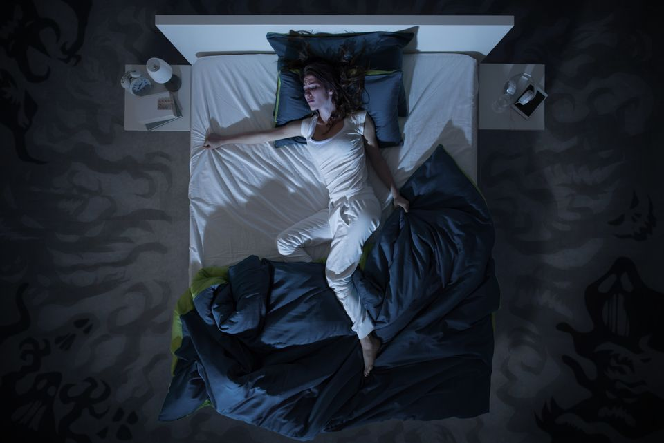 What It's Like To Be Plagued By Night Terrors: 'I'm Paralysed And I Can't