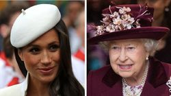 No, The Queen Isn't Being Shady About Meghan Markle And Prince Harry's