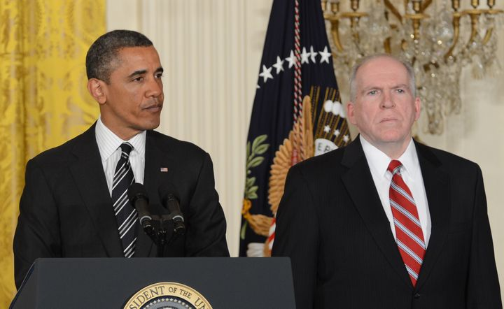 President Barack Obama nominates John Brennan to direct the CIA on January 7, 2013.