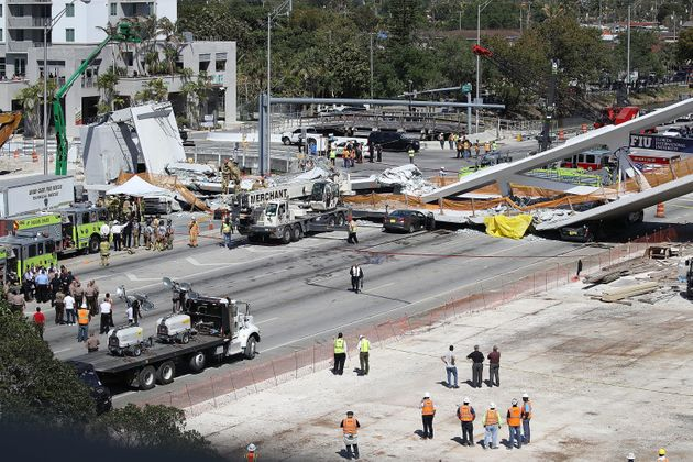 Six Dead In Miami Bridge Collapse As RescuersDoubt They'llFindMore