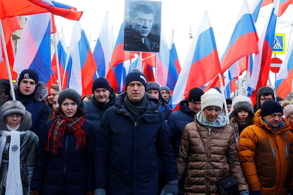 Putin-Kritiker Nawalny mit seinen