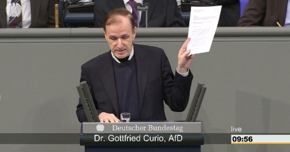 AfD-Mann hält eine der übelsten Hetzreden seit dem Bundestagseinzug