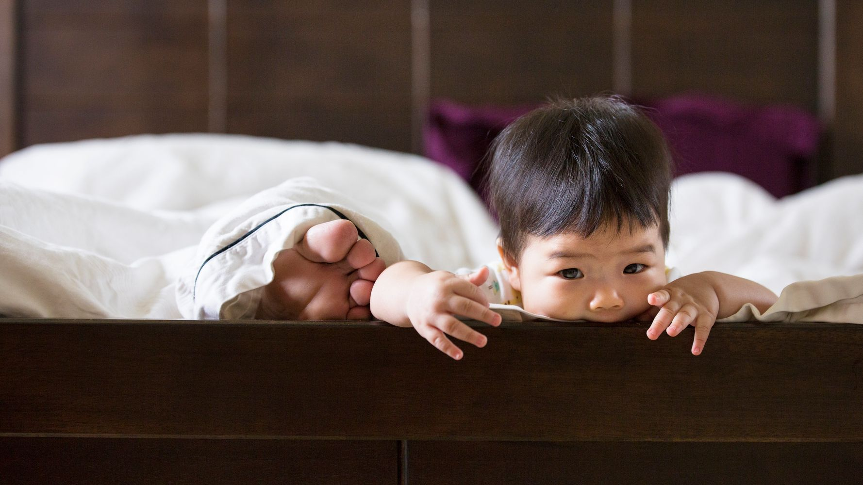 Despite The Lack Of Sleep, Parents Of Toddlers Are Happier Than Their Childless Peers