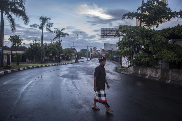 Nyepi Day is a day of silence reserved for self-reflection, Hindus on Bali island are not allowed to...