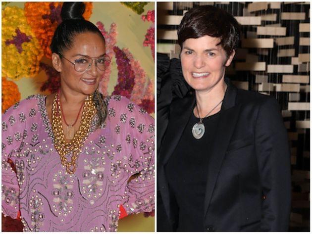 Bandana Tewari and Dame Ellen
